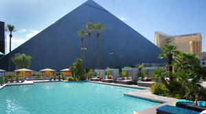 Oasis Pool West Face of the Pyramid